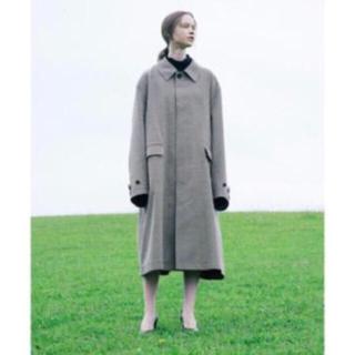 サンシー(SUNSEA)のstein 19ss oversized down pat coat sサイズ(ステンカラーコート)