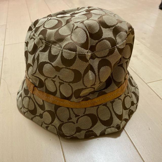 COACH(コーチ)のCOACH シグネチャー 帽子 レディースの帽子(ハット)の商品写真
