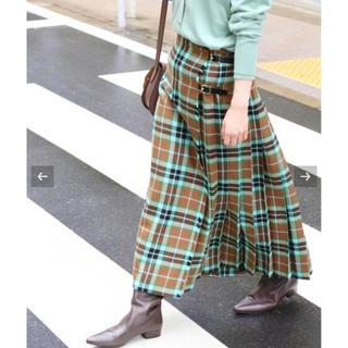 IENA - IENA 【TARA MILLS/タラ ミルズ】チェックキルトスカート
