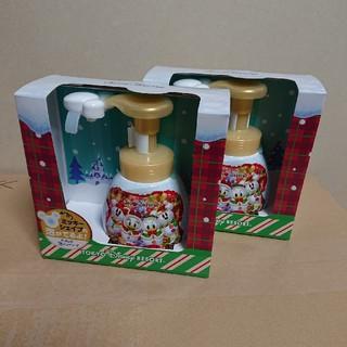 Disney - ハンドソープ2個セット ディズニークリスマス限定デザインボトル