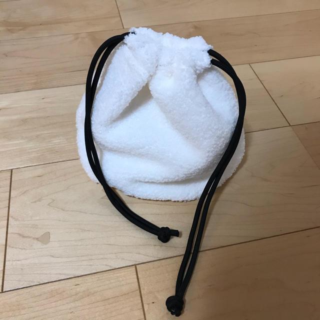 moussy(マウジー)のMOUSSY マウジー ノベルティ もこもこバッグ レディースのバッグ(その他)の商品写真