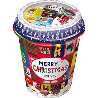 1個チロルチョコ クリスマスカップ 40個