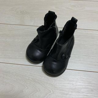 プティマイン(petit main)のプティマイン キッズ 耳付き ブーツ(ブーツ)