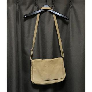 MUJI (無印良品) - 無印良品 バッグ ショルダー 帆布