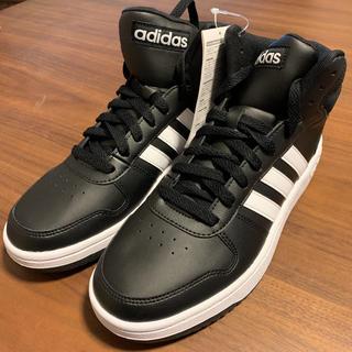 アディダス(adidas)のadidas ADIHOOPS MID 2.0 BB7207 26.5cm 黒(スニーカー)