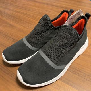 アディダス(adidas)のアディダス メンズ スリッポン  26.5cm  黒 スニーカー(スニーカー)