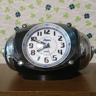 セイコー(SEIKO)のセイコー クロック 大音量目覚まし時計 ピクシス ライデン ブラックNR401K(置時計)