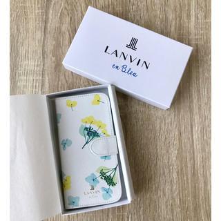 LANVIN en Bleu - LANVIN en Bleu ☆ iPhoneケース リュクサンブール フルール