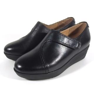 サヤ(SAYA)のサヤインソールワイドシューズ(ローファー/革靴)