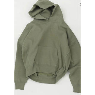 TODAYFUL - Heavycotton Sweat Parka ピスタチオ