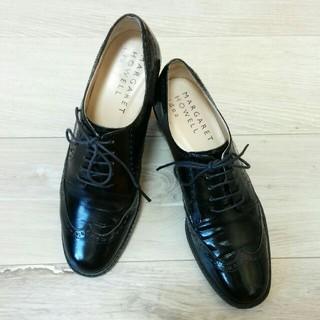 マーガレットハウエル(MARGARET HOWELL)の【Margaret Howell エナメル シューズ】マーガレットハウエル 靴(ローファー/革靴)