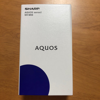 SHARP - AQUOS sense2 SH-M08 ホワイトシルバー