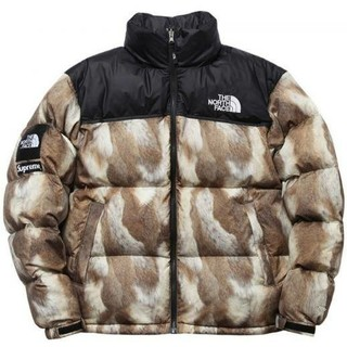 シュプリーム(Supreme)のsupreme north Fur Print Nuptse Jacket(ダウンジャケット)