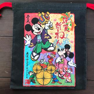 Disney - TDR2008お正月巾着袋