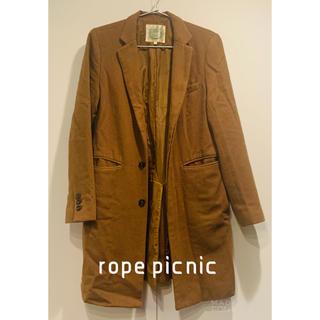 ロペピクニック(Rope' Picnic)のロペピクニック チェスターコート キャメル(チェスターコート)