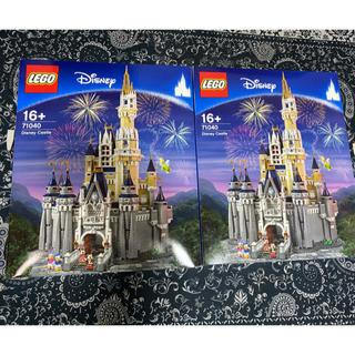 Lego - レゴ シンデレラ城 2個セット 飾り用、保管用にぜひ