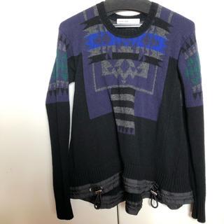 サカイラック(sacai luck)のサカイラック sacai luck ネイティブ柄セーター(ニット/セーター)