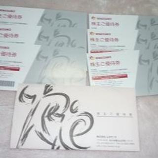 ルネサンス 株主優待券 6枚セット 普通郵便送料無料(フィットネスクラブ)