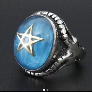 リング 指輪  スター 五芒星 ステンレス (リング(指輪))
