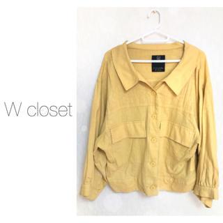 ダブルクローゼット(w closet)のw closet*シャツ(シャツ/ブラウス(長袖/七分))