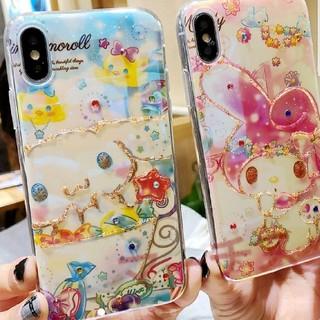 マイメロディ - マイメロディー iPhone ケース アイフォンケース カバー ラメ装飾
