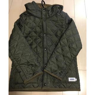 ARMEN - アーメン  キルティングフードジャケット