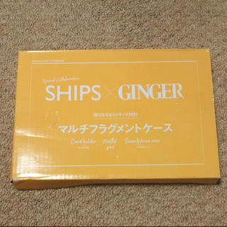 SHIPS - 雑誌付録・ジンジャー マルチフラグメントケース