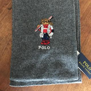 ポロラルフローレン(POLO RALPH LAUREN)の新品タグ付きポロラルフローレン ポロベアー マフラー スカーフ(マフラー)