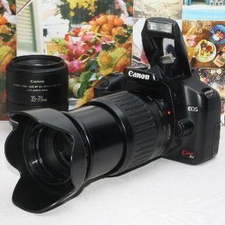 Canon - ❤️ド迫力の超望遠❤️Canon kiss x2 ダブルレンズ❤️