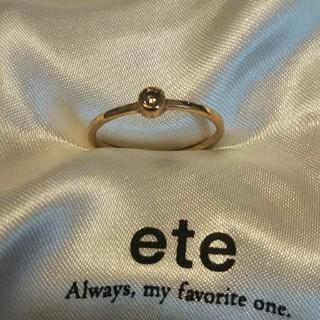 エテ(ete)のk10 リング(リング(指輪))