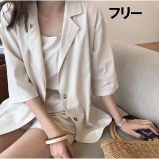 韓国ファッション 新品 セットアップ フリーサイズ 3点セット