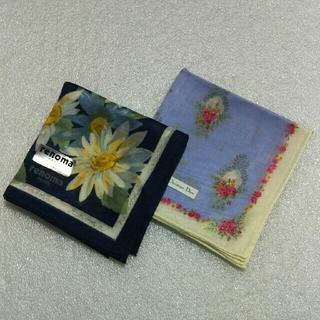 クリスチャンディオール(Christian Dior)のレノマ&クリスチャンディオール☆ハンカチ2枚セット(ハンカチ)