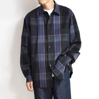 COMOLI - (新品未使用タグ付き) auralee チェックシャツ 19aw