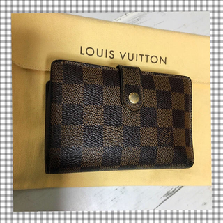 LOUIS VUITTON - LOUIS VUITTON✿ダミエガマ口財布        ✨外観美品✨