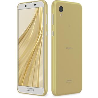 アクオス(AQUOS)の新品 AQUOS sense2 SH-M08 アッシュイエロー SIMフリー(スマートフォン本体)