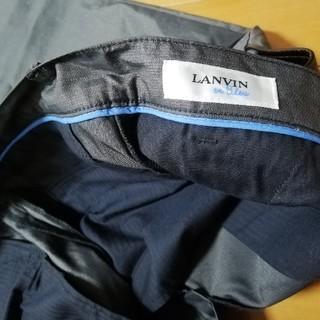 ランバンオンブルー(LANVIN en Bleu)の未使用 ランバンオンブルー パンツ グレー LANVIN ON BLUE(スラックス)