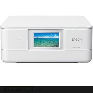 エプソン(EPSON)のエプソン A4インクジェット複合機 Colorio ホワイト EP-881AW(OA機器)