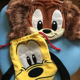 Disney - ディズニー キャラクター 巾着 セット