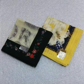 クリスチャンディオール(Christian Dior)の値下げ📌クリスチャンディオール&エレガンス☆ハンカチ2枚セット(ハンカチ)