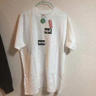 Supreme - 正規品 シュプリーム  ギャルソン TシャツLサイズ 未使用タグ付き 納品書付き