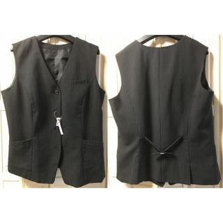 ★ベストパンツスーツ(タグ付き)★(スーツ)