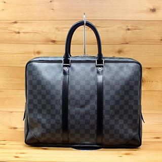 LOUIS VUITTON - 正規品【美品】LOUIS VUITTON ダミエグラフット ビジネスバッグ