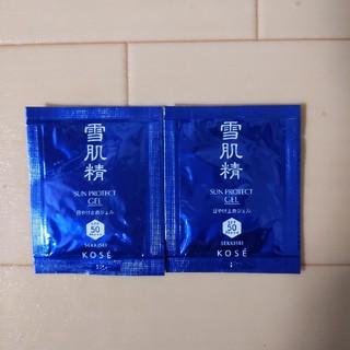 セッキセイ(雪肌精)のKOSE 雪肌精 日焼け止めジェルSPF50(日焼け止め/サンオイル)