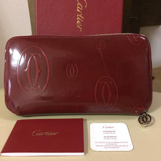 Cartier - カルティエ ハッピーバースデー ジッピーウォレット 長財布