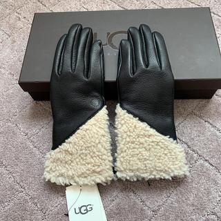 アグ(UGG)のアグ新品タグ付きレザー手袋(手袋)