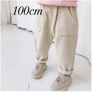 petit main - 新品  韓国子供服 コーデュロイパンツ  パンツ  コーデュロイ 100