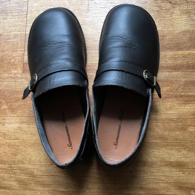 SM2(サマンサモスモス)のみゃーた様  専用二点 革靴 チェックワンピース レディースの靴/シューズ(ローファー/革靴)の商品写真