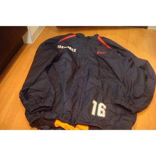 asics - 滝川第二高校サッカー部 番号入りウォーマー上下 #16