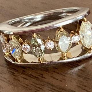 イエローダイヤモンドリング(リング(指輪))