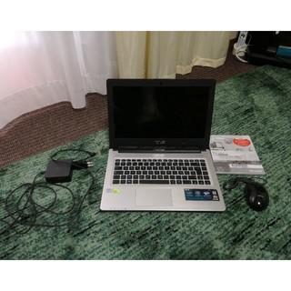 エイスース(ASUS)のASUS ゲーミングPC Intel i3/4GB/HDD/グラボ搭載/オフィス(ノートPC)